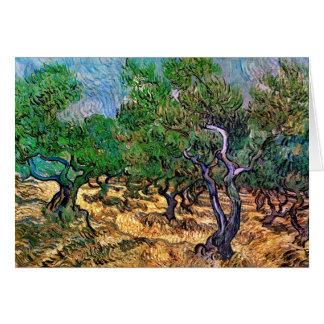 Van Gogh - Olive Grove Card