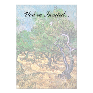 Van Gogh - Olive Grove Personalized Invites