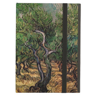 Van Gogh Olive Grove, Vintage Landscape Fine Art iPad Air Cover