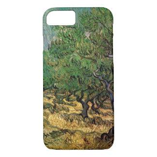 Van Gogh Olive Grove, Vintage Landscape Fine Art iPhone 7 Case
