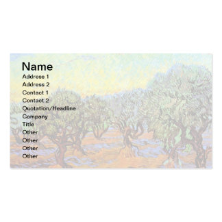Van Gogh - Olive Grove with Orange Sky Pack Of Standard Business Cards