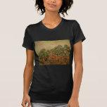 Van Gogh Olive Picking, Vintage Impressionism Art Shirts