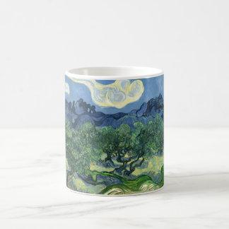 Van Gogh | Olive Trees | 1889 Basic White Mug