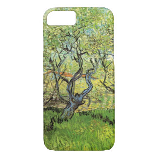Van Gogh Orchard in Blossom, Vintage Fine Art iPhone 8/7 Case