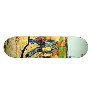 Van Gogh: Painter on His Way to Work Skate Board Deck