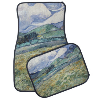 Van Gogh Painting Car Mats Full Set (set of 2) Floor Mat