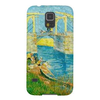 Van Gogh Painting Langlois Brige at Arles Galaxy S5 Case