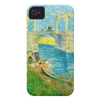 Van Gogh Painting Langlois Brige at Arles iPhone 4 Case-Mate Case