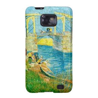 Van Gogh Painting Langlois Brige at Arles Galaxy SII Cover