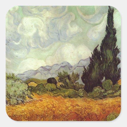 Van Gogh Painting Sticker