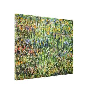 Van Gogh - Pasture In Bloom Stretched Canvas Prints