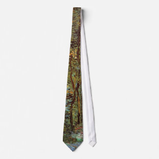 Van Gogh Path in the Woods, Vintage Fine Art Tie