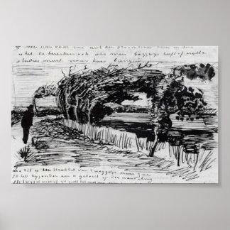 Van Gogh - Path to the Beach Poster
