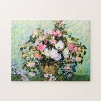 Van Gogh Pink Roses puzzle