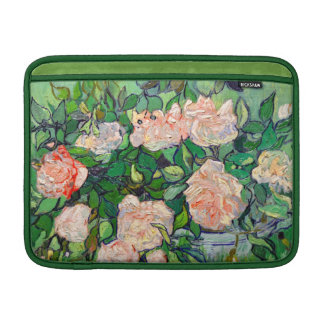 Van Gogh Pink Roses Sleeve For MacBook Air