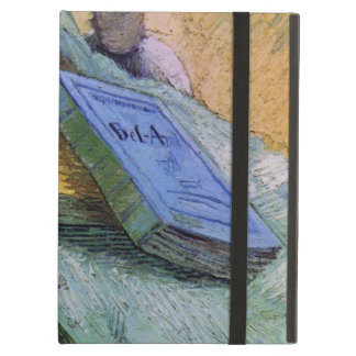 Van Gogh, Plaster Statuette, a Rose and Two Novels iPad Air Case