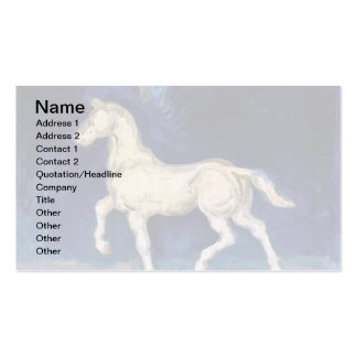 Van Gogh - Plaster Statuette Of A Horse Business Card