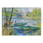 Van Gogh: Pont de Clichy (blank inside) Card