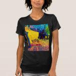 Van Gogh Pop Art Cafe Terrace At Night T-shirts