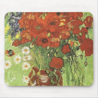 Van Gogh Poppies Mouse Mat
