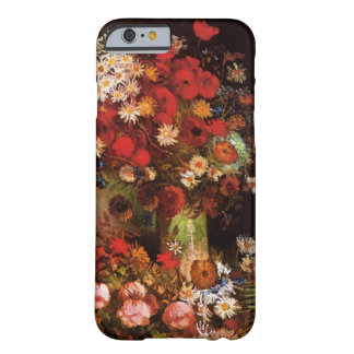 Van Gogh Poppies, Peonies and Chrysanthemums Barely There iPhone 6 Case