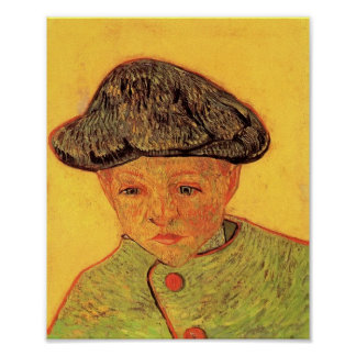 Van Gogh - Portrait of Camille Roulin Poster
