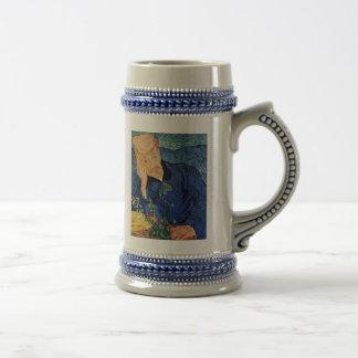 Van Gogh - Portrait Of Doctor Gachet Beer Stein