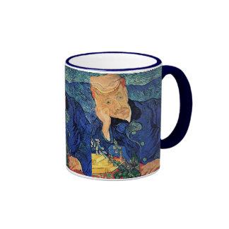 Van Gogh - Portrait Of Doctor Gachet Ringer Mug