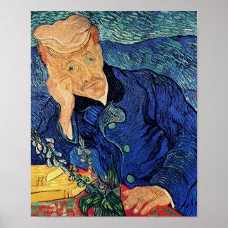 Van Gogh Portrait Of Doctor Gachet Poster