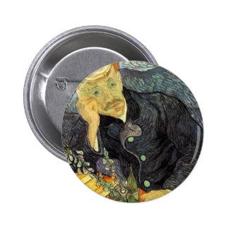Van Gogh Portrait of Dr. Gachet 6 Cm Round Badge