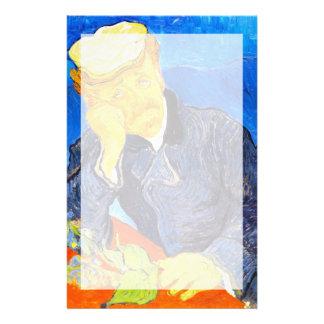 Van Gogh | Portrait of Dr. Gachet Customized Stationery