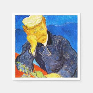 Van Gogh   Portrait of Dr. Gachet Disposable Serviettes