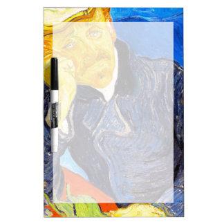 Van Gogh | Portrait of Dr. Gachet Dry-Erase Whiteboard