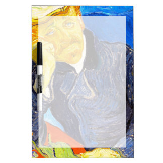 Van Gogh | Portrait of Dr. Gachet Dry-Erase Whiteboards