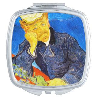 Van Gogh | Portrait of Dr. Gachet Mirror For Makeup
