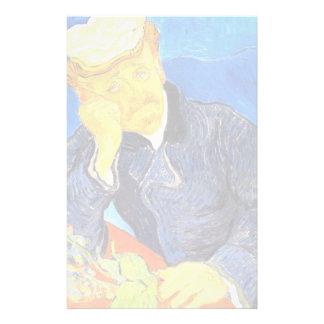 Van Gogh   Portrait of Dr. Gachet Personalized Stationery