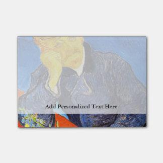 Van Gogh   Portrait of Dr. Gachet Post-it® Notes