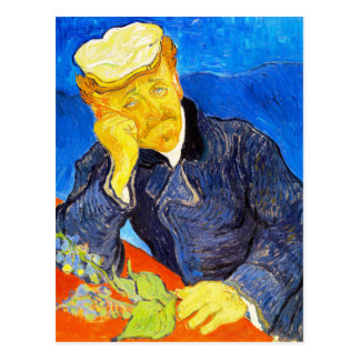 Van Gogh   Portrait of Dr. Gachet Postcard