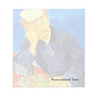 Van Gogh | Portrait of Dr. Gachet Scratch Pad