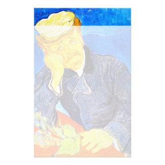 Van Gogh | Portrait of Dr. Gachet Stationery