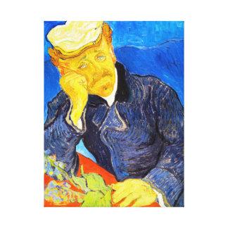 Van Gogh   Portrait of Dr. Gachet Stretched Canvas Prints
