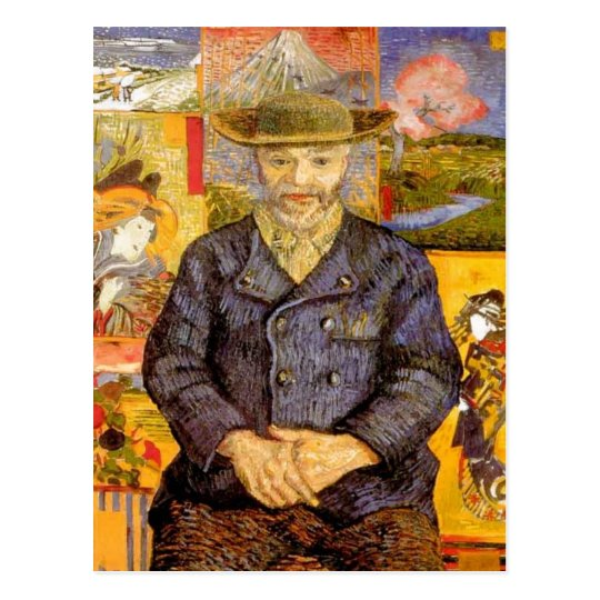 Van Gogh - Portrait of P?re Tanguy (Father