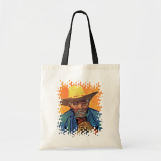 Van Gogh - Portrait Of Patience Escalier Budget Tote Bag