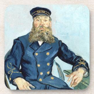Van Gogh | Portrait of the Postman Joseph Roulin Beverage Coaster
