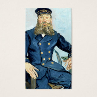Van Gogh | Portrait of the Postman Joseph Roulin Business Card