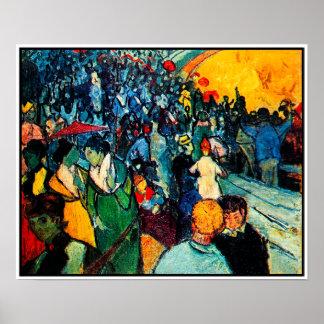 Van Gogh Poster: The Arena at Arles