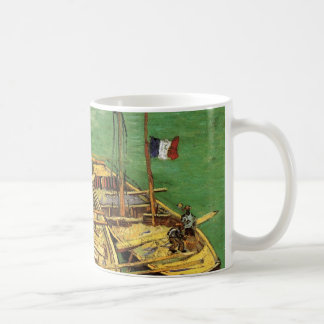 Van Gogh; Quay with Men Unloading Sand Barges Coffee Mugs