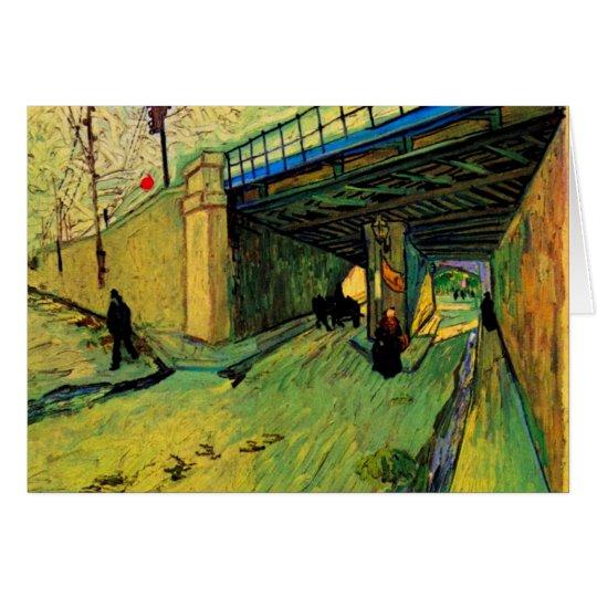 Van Gogh Railway Bridge, Avenue Montmajour, Arles Card