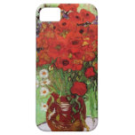 Van Gogh Red Poppies and Daisies iPhone Case Case For The iPhone 5