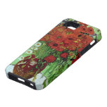 Van Gogh Red Poppies & Daisies Fine Art iPhone 5 Covers